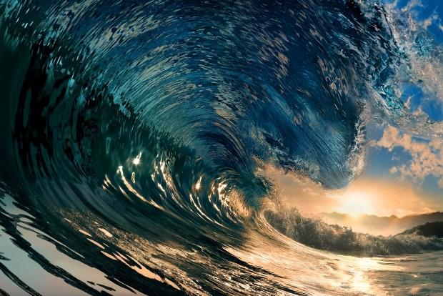 O tamanho das ondas  uma das informaes mais importantes para qualquer surfista (Foto: Shutterstock / Willyam Bradberry)