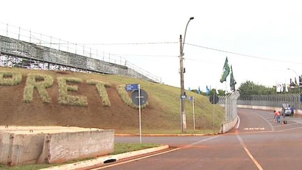 Pista de rua de Ribeirão Preto, Stock Car (Foto: Reprodução EPTV)