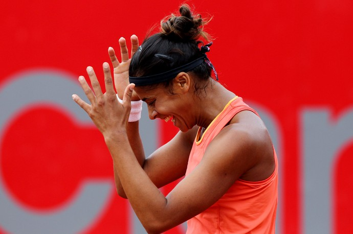 tênis Teliana Pereira WTA de Bogotá (Foto: EFE)