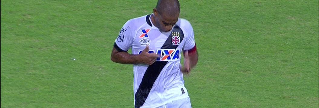 Veja o gol de CRB 0 x 1 Vasco, marcado pelo zagueiro Rodrigo