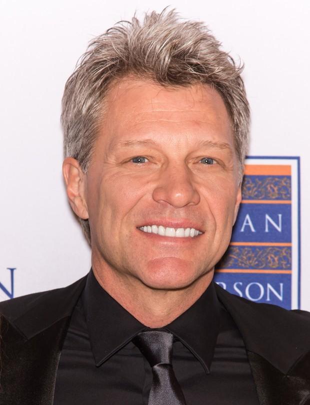 Jon Bon Jovi em evento na Filadélfia, nos Estados Unidos (Foto: Gilbert Carrasquillo/ Getty Images)