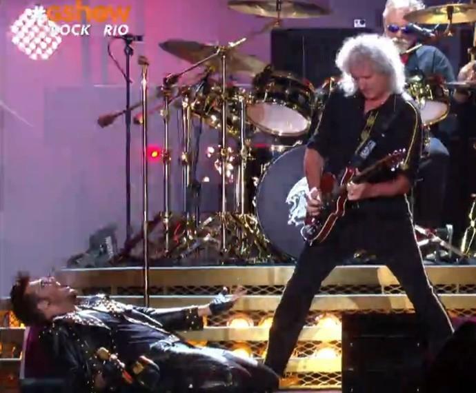 Queen encerra a primeira noite do Rock in Rio
