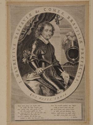 Imagem mostra o conde Maurício de Nassau, que assumiu o governo holandês em Pernambuco (Foto: Acervo Fundação Joaquim Nabuco)