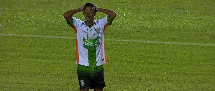 Felipe Amorim; América-MG (Foto: Reprodução/ TV Globo MInas)