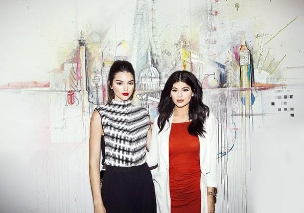 Kendall e Kylie Jenner (Foto: Reprodução/Instagram)