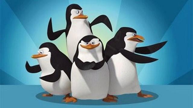TV Globinho; pinguins de madagascar (Foto: Divulgação)