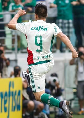 Cristaldo Palmeiras x Capivariano (Foto: Ale Vianna/Eleven/Estadão Conteúdo)