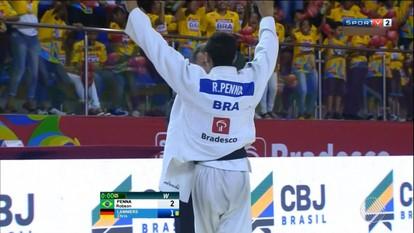 Brasil vence a Alemanha e conquista a Copa Internacional de Judô