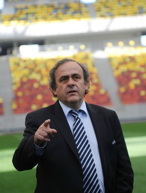 Michel Platini presidente da Uefa (Foto: Getty Images)
