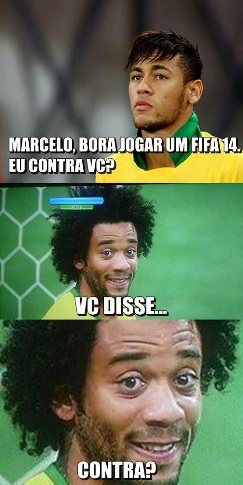 Marcelo Gol Contra (Foto: Reprodução)