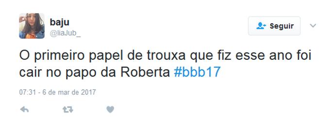 Twitter Emilly Roberta (Foto: Twitter)