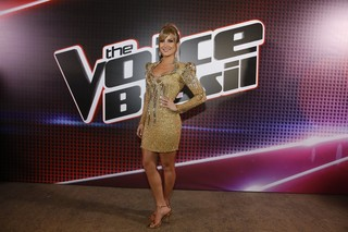 Claudia Leitte na final do 'The Voice Brasil', no Rio (Foto: Felipe Panfili/ Ag. News)