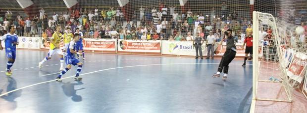 Copa Federação: Título do Suzano (Foto: Thiago Fidelix / Globoesporte.com)