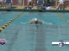 Michael Phelps volta a competir após quase dois anos parado e vence