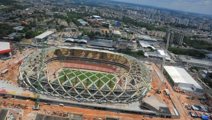 Arena da Amazônia, Manaus (Foto: Warrington Redman/Agecom)