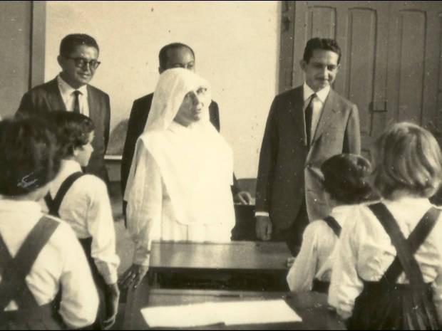 Nos anos 1970, durante o regime militar, o colégio deixou de ser internato e foi aberto para a comunidade. (Foto: Reprodução/TV Liberal)