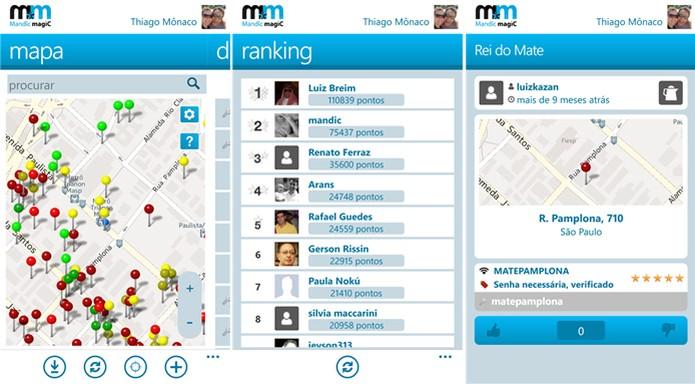 Mandic Magic, rede social de senhas Wi-Fi, chega ao Windows Phone 8 (Foto: Divulgação/Windows Phone Store)