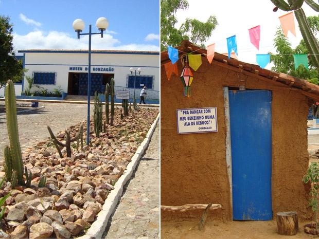 Parque Aza Branca, museu de Luiz Gonzaga em Exu (PE) (Foto: Divulgação)