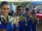 Seleção de kickboxing de Campos garante medalhas na Copa do Brasil