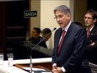 Fernando Pimentel se emociona ao lembrar trajetória na posse em MG