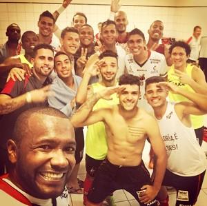 Ituano x Joinville, comemoração, Copa do Brasil (Foto: Reprodução/ Instagram)