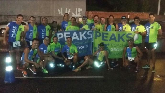 Equipe da Peaks Coaching Group representa o Pará na Challenge Cerrado, em Brasília (Foto: Arquivo Pessoal)