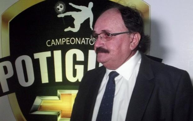 José Vanildo da Silva, presidente da Federação Norte-rio-grandense de Futebol (Foto: Tiago Menezes/GLOBOESPORTE.COM)