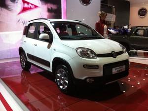 Fiat Panda 4x4 (Foto: Rodrigo Mora/G1)