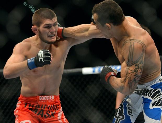 UFC 148 Khabib Nurmagomedov  Gleison Tibau (Foto: Agência Getty Images)