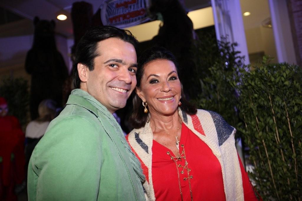 Fábio Arruda e Beth Szafir (Foto: Leo Franco e Thiago Duran/AgNews)