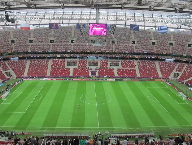 Estádio, Polônia, Eurocopa (Foto: Agência Reuters)