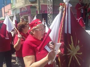 Músicas e cantos religiosos entoaram o 5º Encontro da Folia do Divino (Foto: Maria Salas/ divulgação)