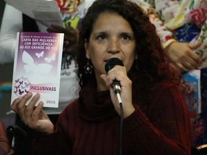 Carol participa de coletivos e movimentos feministas (Foto: Arquivo pessoal/Carol Santos)