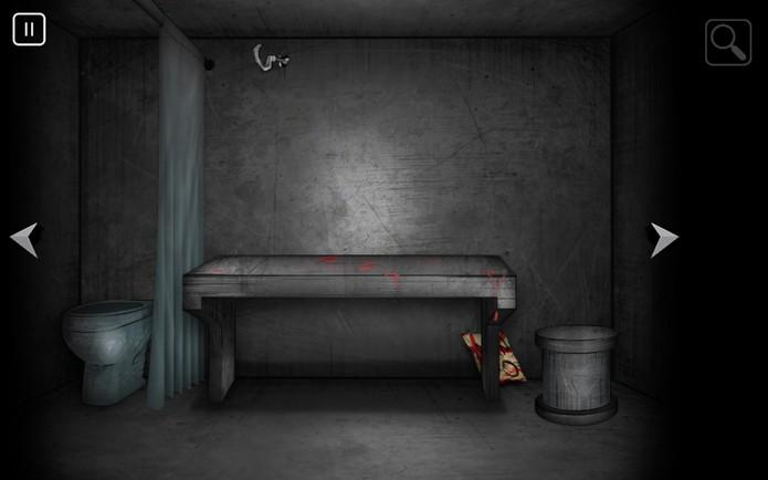 Pista escondida em ambiente de Supermax Game (Foto: Reprodução/João Gabriel Balbi)