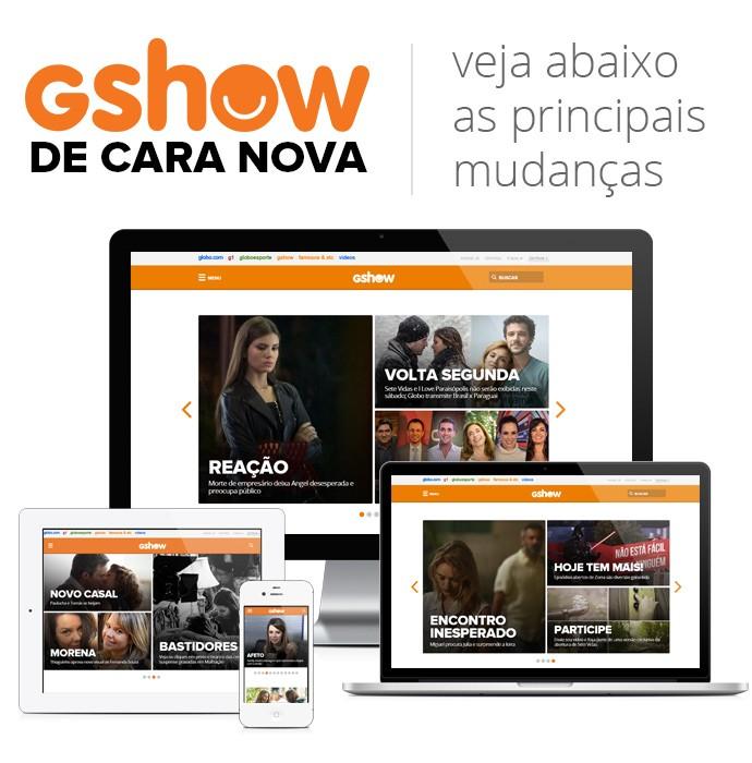 Novo Gshow (Foto: Gshow)