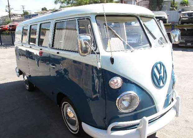 Kombi roubada no estado americano de Washington foi recuperada mais de 35 anos depois (Foto: U.S. Customs and Border Protection/AP)