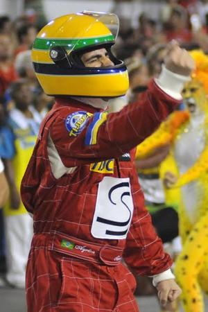 Carnaval - Sapucaí - Desfile Unidos da Tijuca - Senna (Foto: André Durão)