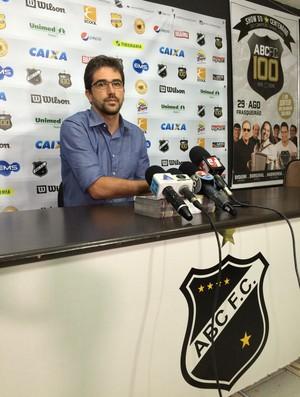 Rodrigo Pastana - Superintendente de Futebol do ABC (Foto: Jocaff Souza/ GloboEsporte.com )