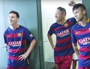 BLOG: Dia de modelos: craques do Barcelona posam para fotos oficiais da temporada
