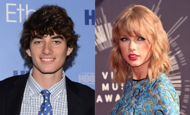 """Taylor e Conor namoraram por um curto período em 2012 e, ao contrário de (muitos) outros rompimentos da cantora, este foi simples. Um amigo de Swift disse a Vanity Fair, """"[A relação] foi algo de dois meses. [Ela] disse que ele é ótimo"""". (Foto: Getty Images)"""