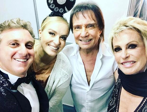 Luciano Huck, Angélica, Roberto Carlos e Ana Maria Braga (Foto: Reprodução/Instagram)
