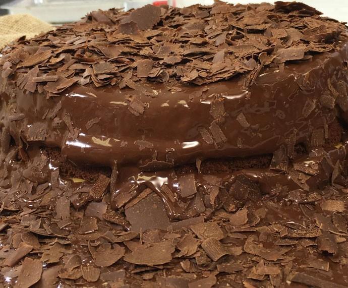 Bolo de Chocolate (Foto: Gshow)