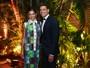 Cauã Reymond e Mariana Goldfarb roubam a cena em evento de gala
