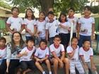 Em solidariedade a colega, crianças vão de tapa-olho para escola no DF