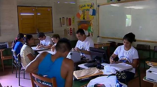 Semana Nacional de Conciliação, no AM (Foto: Amazônia TV)
