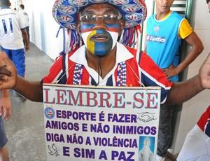 pedro paz; torcedor; bahia (Foto: Eric Luis Carvalho/Globoesporte.com)