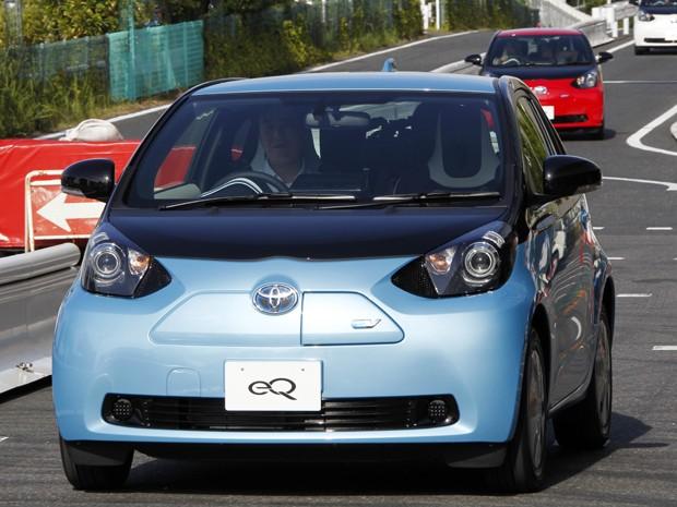 Toyota eQ (Foto: AP Photo/Koji Sasahara)