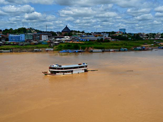Corpo de Bombeiros diz que rio sofreu um repiquete no fim de semana (Foto: Anny Barbosa/G1)