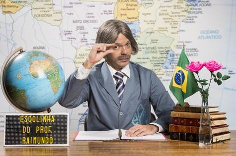 Professor Raimundo ( Bruno Mazzeo) (Foto: Globo/João Miguel Júnior)