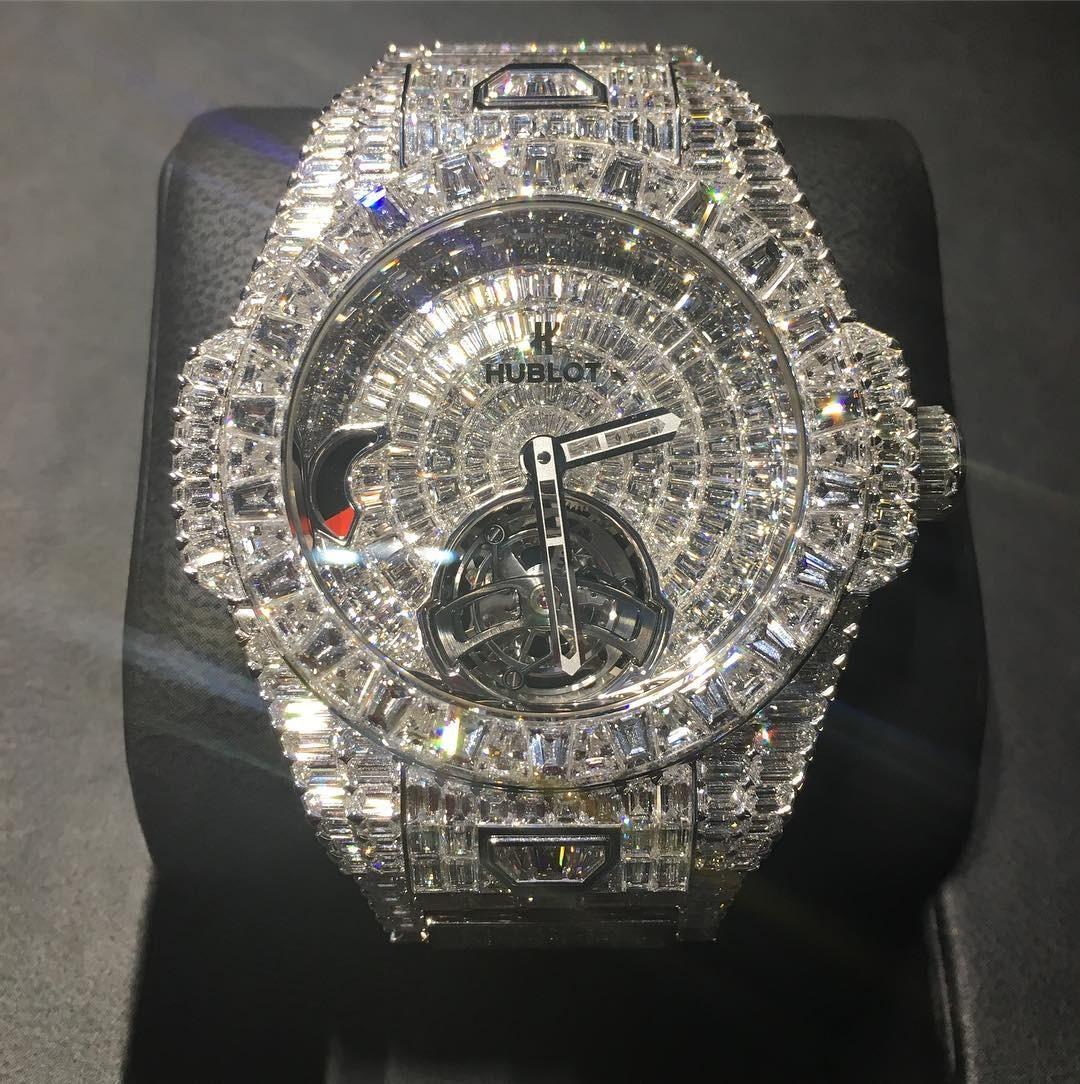 Big Bang Tourbillon 5-day Reserve High Jewellery  (Foto: Reprodução/Instagram)
